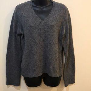 J. Crew 100% Lamb Wool V neck sweater